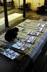 Painting Pickets